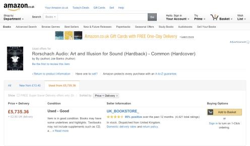 Rorschach Audio on Amazon UK