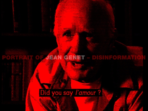 Disinformation - Portrait of Jean Genet