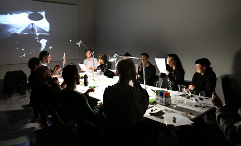 Rorschach Audio workshop at MUMA